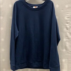NWOT Onia Navy Comfort Sweater XL